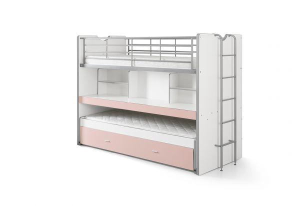Etagenbett Bonny : Vipack hochbett bonny rosa hier vergleichen dito24
