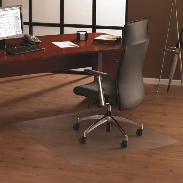 Bodenschutzmatte, 120 x 120 cm, quadtratisch, transparent