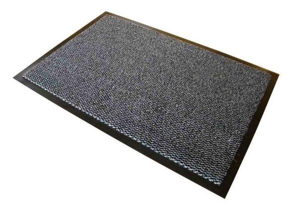 Schmutzfangmatte, 120 x 180 cm, schwarz/weiß meliert