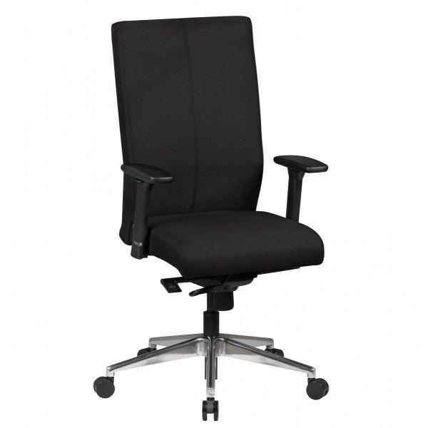 ADRIAN Bürostuhl, Schreibtischstuhl, Chefsessel, Schwarz