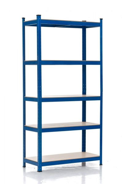 Steckregal 90x40x220, blau