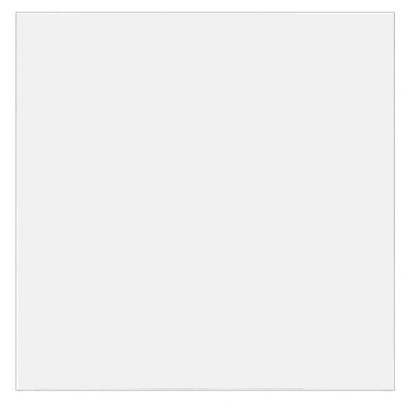 Tischplatte 80x80cm mit Systembohrung für Stützfuß, Weiß