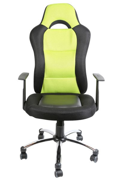 Bürostuhl Jerry, schwarz, grün