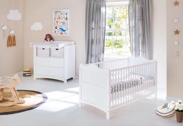 Kinderzimmer Sparset 'Florentina' breit, weiß