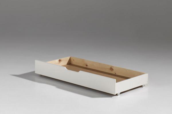 Schublade zum Kinderbett Jumper zum unterschieben, weiß lackiert