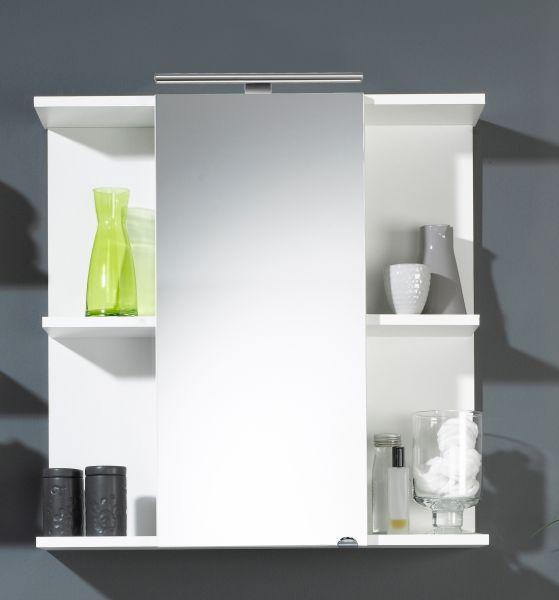 Spiegelschrank, weiss, multi-use, 68 x 68 x 20,5 cm