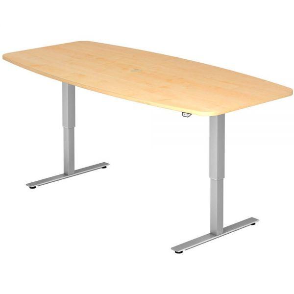 Konferenztisch mit Tastschalter, Ahorn | Büro > Bürotische > Konferenztische | Hammerbacher