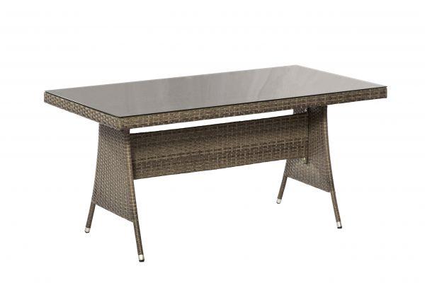 Ravello Tisch, 150 x 80 cm, grau
