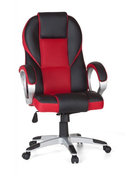 Bürostuhl RACE Gaming Chefsessel mit Armlehne Racer, Rot