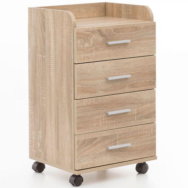 Rollcontainer Sonoma 40x70,5x33cm