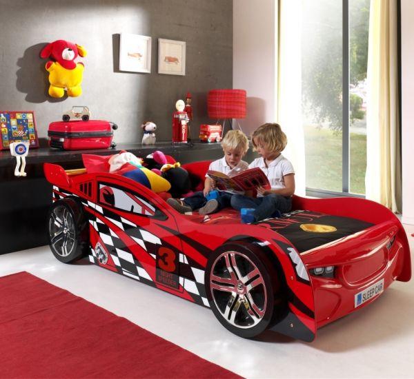 Kinderbett Autobett Night Speeder, Rot