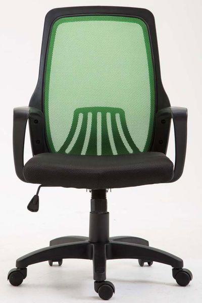 Bürostuhl Clever, schwarz/grün