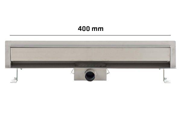 Wand-Duschablauf Zitahli 400mm, edelstahl