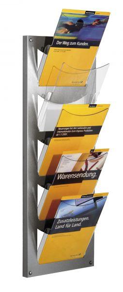 Wandmagazin NovaX, 5 Fächer, DIN A4