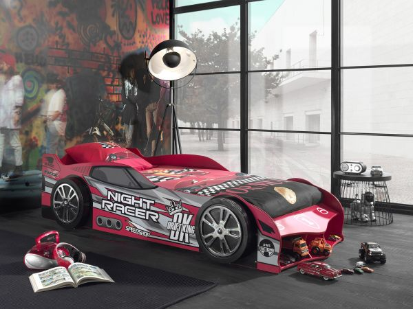 Kinderbett Autobett Racer Rot