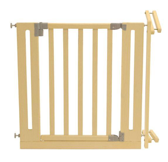 Treppenschutzgitter 117-126cm natur