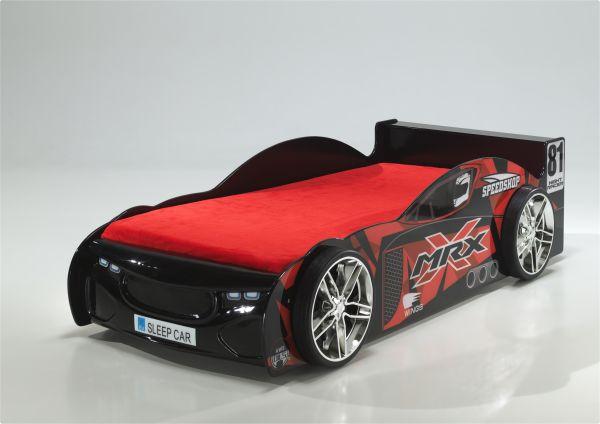 Kinderbett Autobett MRX schwarz lackiert