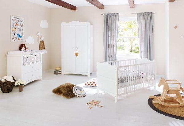 Kinderzimmer 'Florentina' breit, weiß