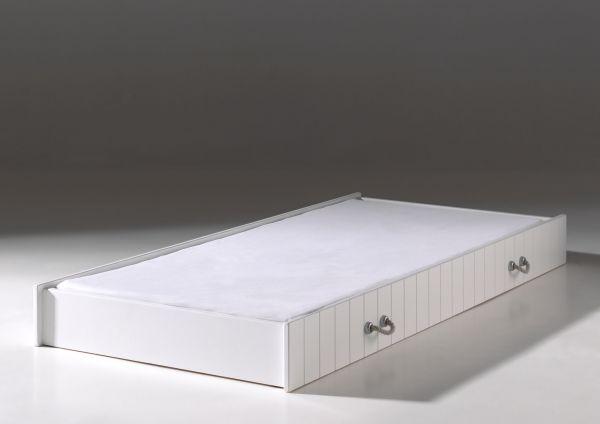 Bettschublade 90x190 cm Lewis, Weiß