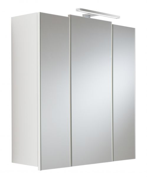 Spiegelschrank, weiss, multi-use, LED-Beleuchtung