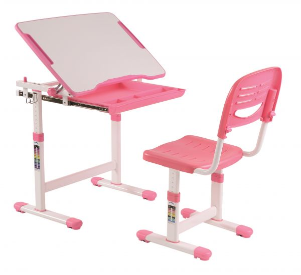 COMFORTLINE Multifunktions Schreibtisch, Rosa