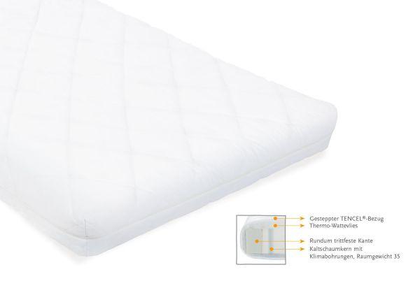 Matratze für Kinderbetten 'TENCEL®', 140 x 70 cm, weiß