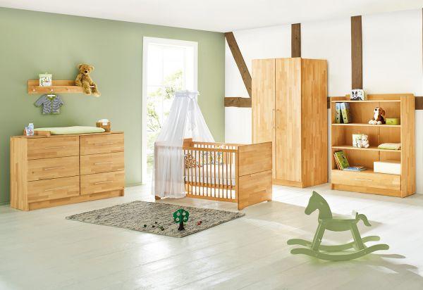 Kinderzimmer 'Natura' extrabreit, natur