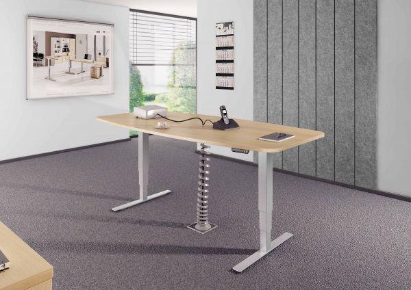 Konferenztisch mit Memoryschalter, Eiche | Büro > Bürotische > Konferenztische | Eiche | Hammerbacher