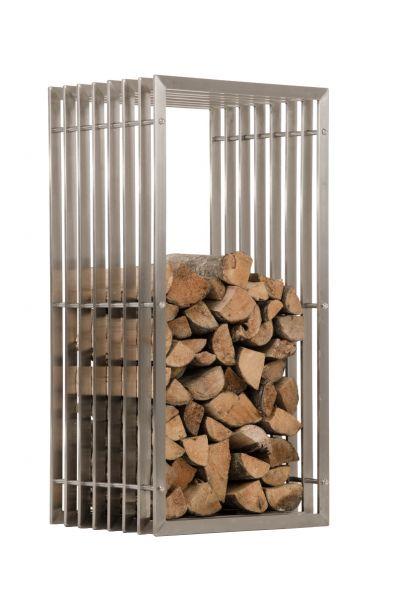 Kaminholzständer Irving 40x50x100, edelstahl