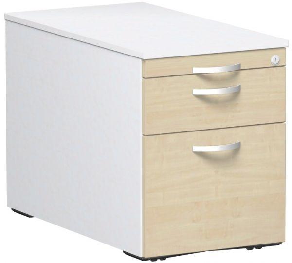 Rollcontainer mit 3 Metall-Schubfächern und Utensilienschubfach, 44x80cm, Aho... | Büro > Büroschränke > Rollcontainer | Metall | Geramöbel