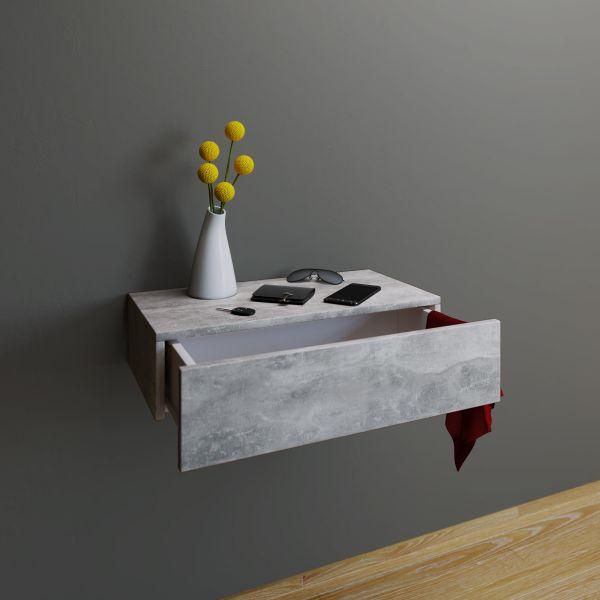 Wandschublade Blado Maxi Beton Optik Vcm Mobel Einkaufen Dito24