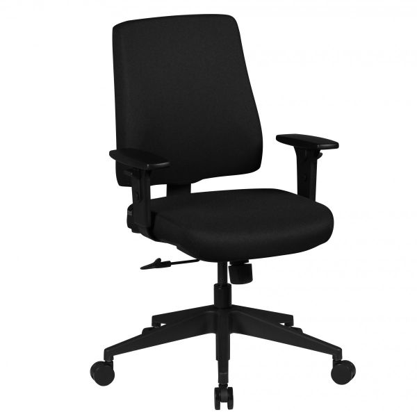 MATTEO Bürostuhl Schreibtischstuhl, Schwarz