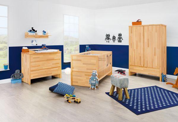 Kinderzimmer 'Fagus' breit, natur