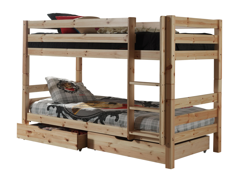 Vipack Etagenbett Pino : Vipack hochbett mit liegefläche cm kommode und sessel