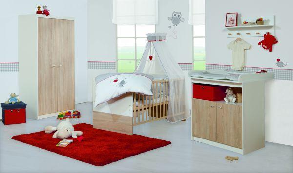 Kinderzimmerset 'Gabriella' Eiche/ weiß