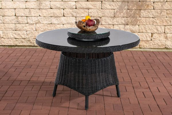 Tisch Jardin 5mm, schwarz