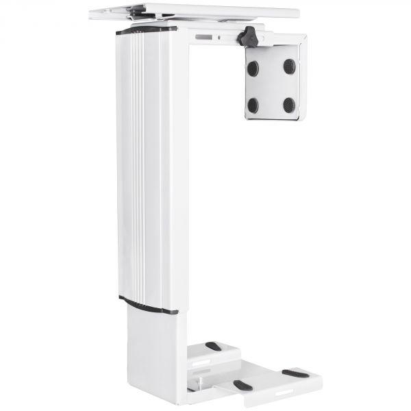 PC-Halter SPM4.011 Weiß 360° Drehbar Universal Computerhalterung 38,5 - 52,5 cm
