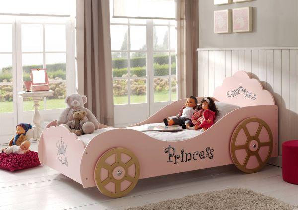 Kinderbett Kutschenbett, Pink
