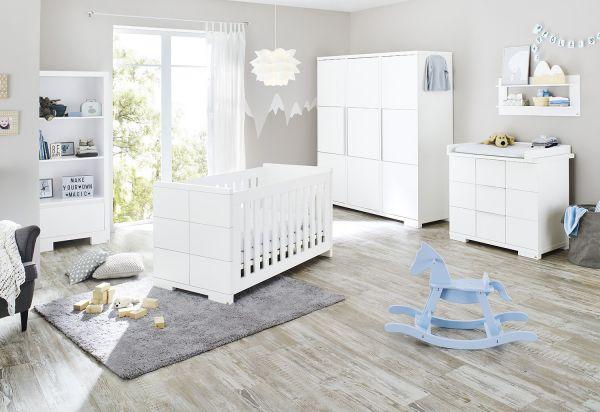 Kinderzimmer 'Polar' breit groß, weiß
