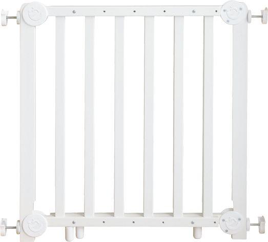 Türschutzgitter 72-115,5cm weiß