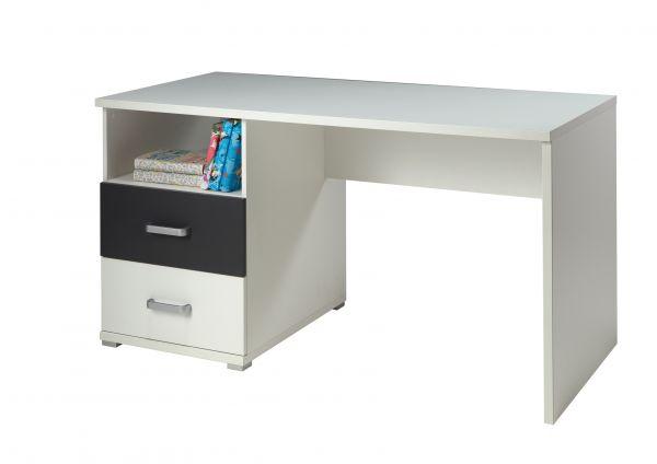 Schreibtisch Josh, Weiß/Anthrazit