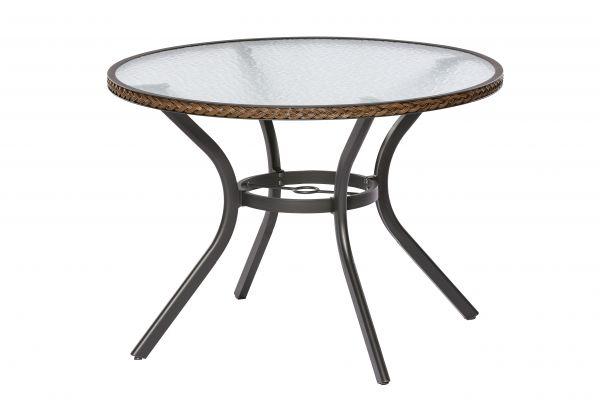 Ravenna Tisch, schoko, Ø 100 cm, schoko