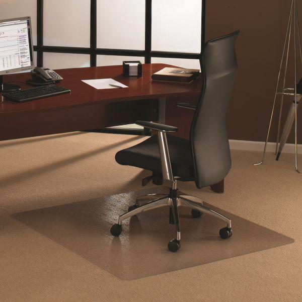Bodenschutzmatte, 150 x 150 cm, quadratisch, transparent