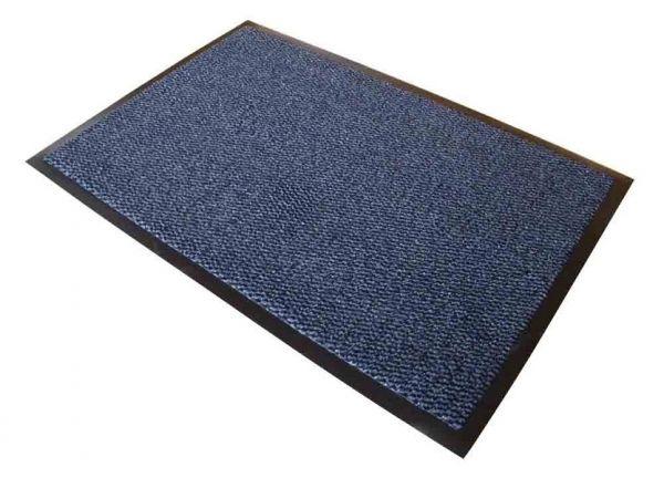 Schmutzfangmatte, 120 x 180 cm, blau/schwarz meliert