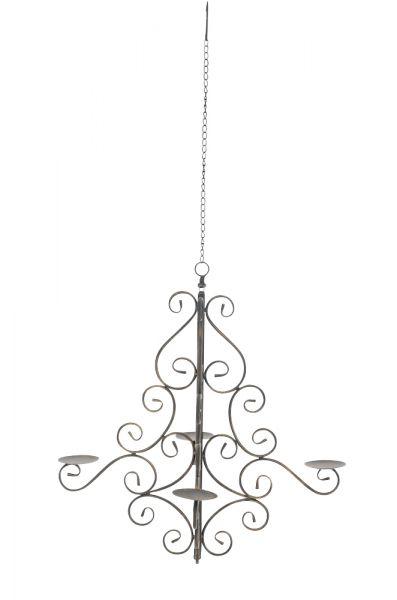 Mirabella Kerzenkronleuchter, bronze