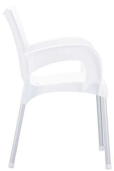 Stuhl Romeo, weiß