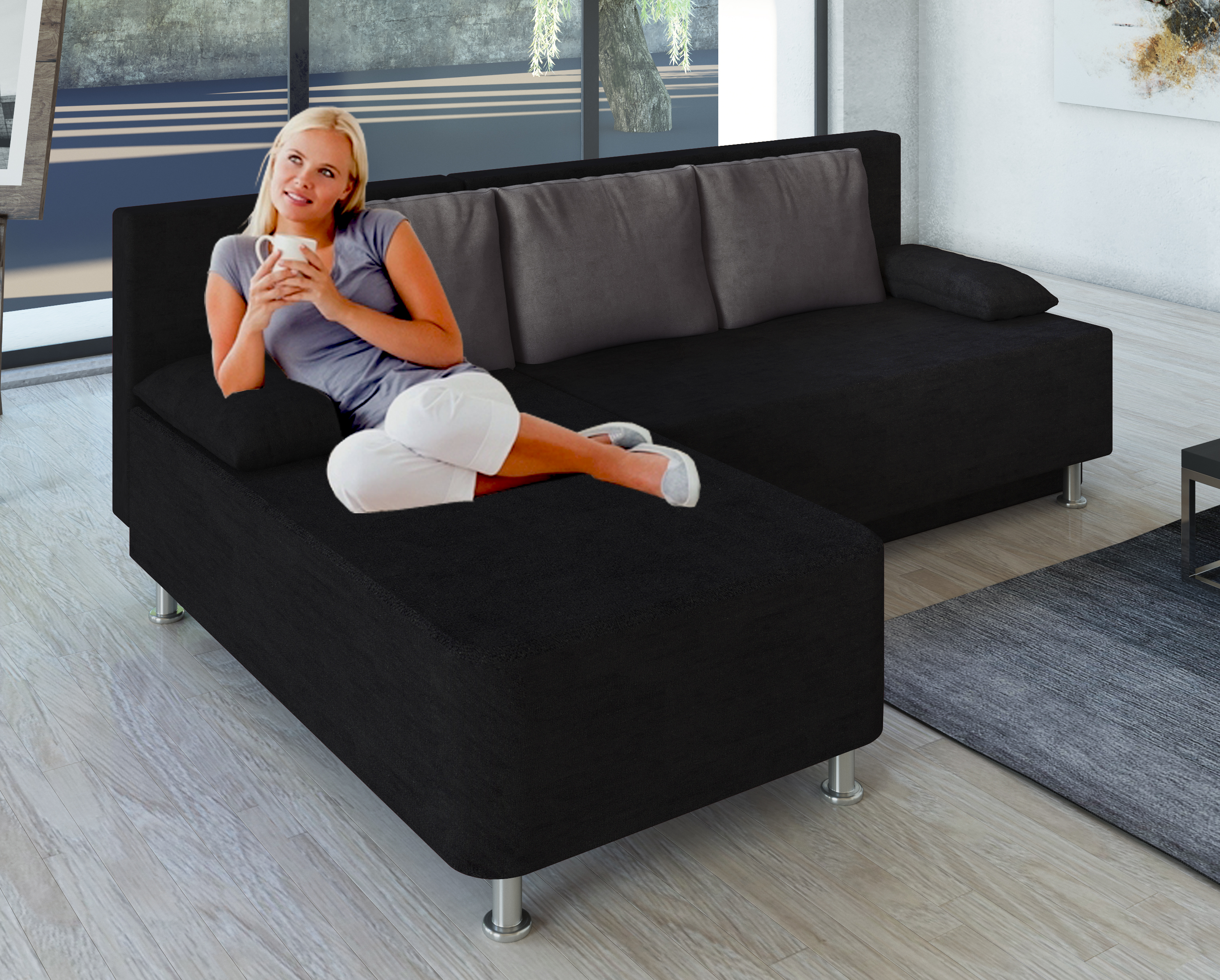 sofas sofa garnituren g nstig online kaufen dito24. Black Bedroom Furniture Sets. Home Design Ideas