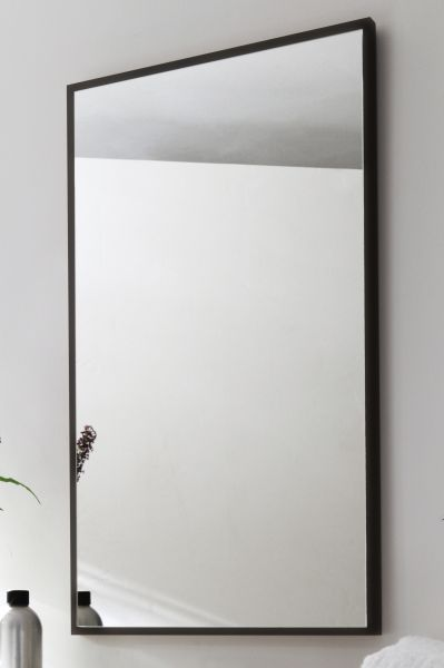 Spiegel, anthrazit, Alexo