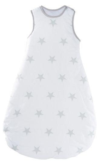 Schlafsack 'Little Stars' 90cm weiß