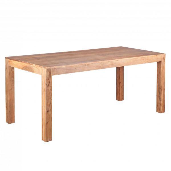 Esstisch, Esszimmer-Tisch, Massivholz, Akazie, 180cm